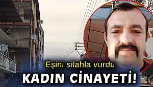 İzmir'de eşi tarafından silahla vurulduğu iddia edilen kadın öldü