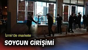 İzmir'de markete soygun girişimi