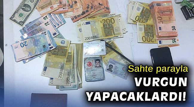 İzmir'de sahte parayla cep telefonu almaya çalışan 6 şüpheli yakalandı