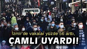 İzmir'de vakalar yüzde 56 arttı, Çamlı uyardı!