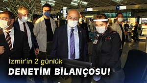 İzmir'in 2 günlük denetim bilançosu