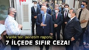 İzmir Valiliği'nden denetim raporu: 7 ilçede sıfır ceza!
