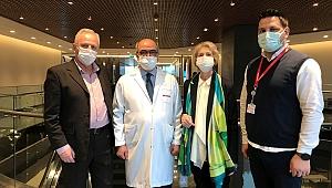 Karaciğerindeki 8 kiloluk damar yumağından türkiye'de kurtuldu