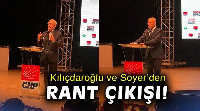Kılıçdaroğlu ve Soyer'den rant çıkışı!