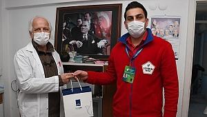 Kuşadası Belediyesi sağlık çalışanlarını unutmadı