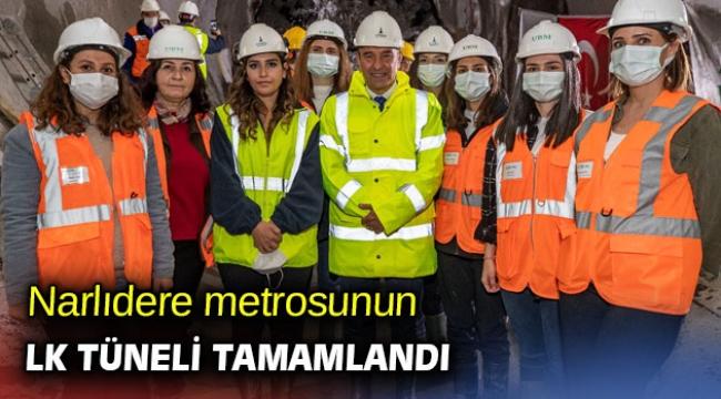 Narlıdere metrosunun ilk tüneli tamamlandı