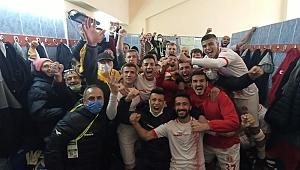 Sahadan 3-1 galip ayrılan Bergama Belediyespor sevinç yaşattı