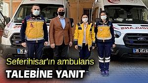 Seferihisar'ın ambulans talebine yanıt