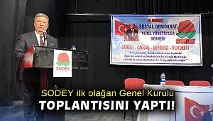 SODEY, ilk olağan genel kurulu toplantısını yaptı!