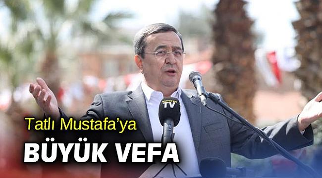 Tatlı Mustafa'ya büyük vefa