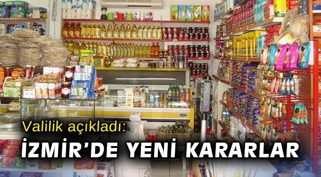 Valilik açıkladı: İzmir'de yeni korona kararları