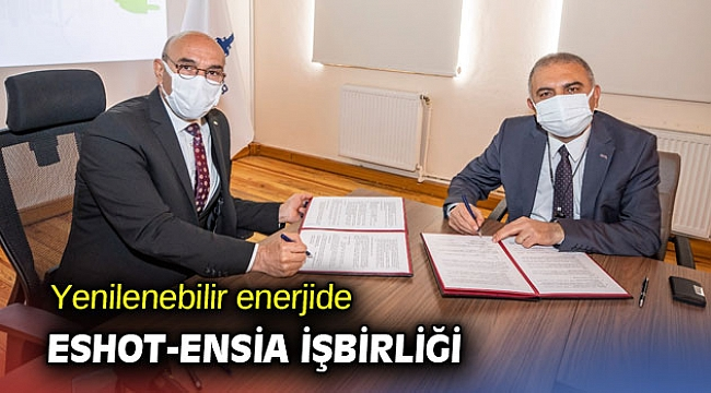 Yenilenebilir enerjide ESHOT-ENSİA işbirliği