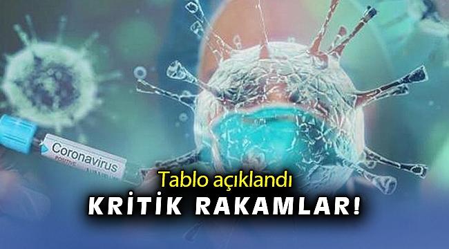 19 Nisan koronavirüs tablosu açıklandı
