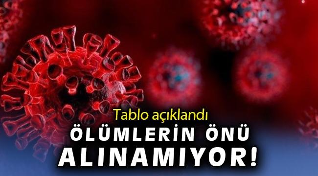 20 Nisan koronavirüs tablosu açıklandı