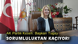 AK Partili Keseli: Başkan Tugay sorumluluktan kaçıyor!