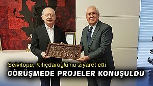 Başkan Selvitopu, Kılıçdaroğlu'nu ziyaret etti! Görüşmede projeler konuşuldu
