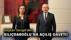 Başkan Sengel'den Kılıçdaroğlu'na açılış daveti!