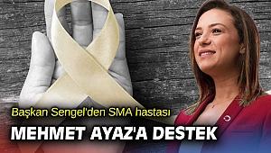 Başkan Sengel'den SMA hastası Mehmet Ayaz'a destek