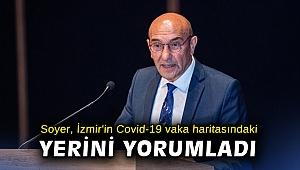 Başkan Soyer, İzmir'in Covid-19 vaka haritasındaki yerini yorumladı