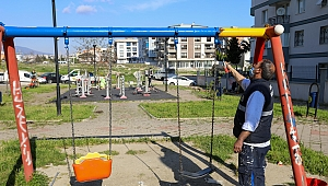 Buca Belediyesi parkları A'dan Z'ye yeniledi