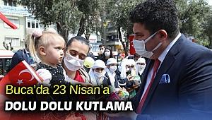 Buca'da 23 Nisan'a dolu dolu kutlama