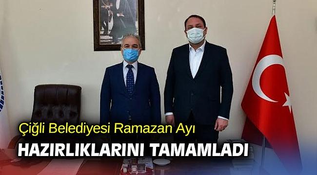 Çiğli Belediyesi Ramazan Ayı Hazırlıklarını Tamamladı