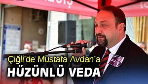 Çiğli'de Mustafa Avdan'a hüzünlü veda