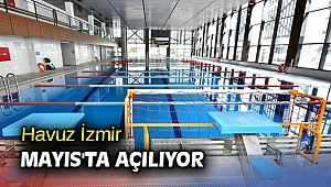 Havuz İzmir, hem halka hem sporculara hizmet verecek