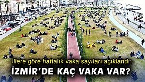 İllere göre haftalık vaka sayıları açıklandı: İzmir'de kaç vaka var?