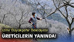 İzmir Büyükşehir Belediyesi üreticilerin yanında!