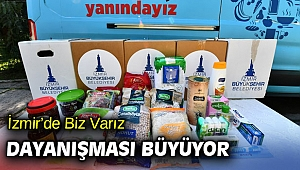 İzmir'de Biz Varız dayanışması büyüyor