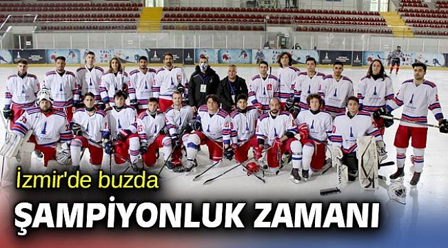 İzmir'de buzda şampiyonluk zamanı