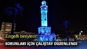 İzmir'de engelli bireyler için çalıştay