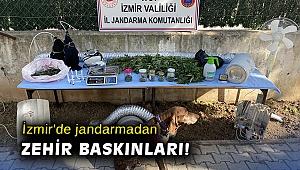 İzmir'de jandarmadan zehir baskınları: 3 tutuklama