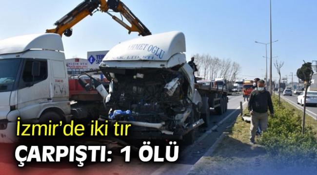 İzmir'de korkunç kaza! 1 ölü