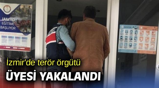 İzmir'de terör örgütü üyesi yakalandı