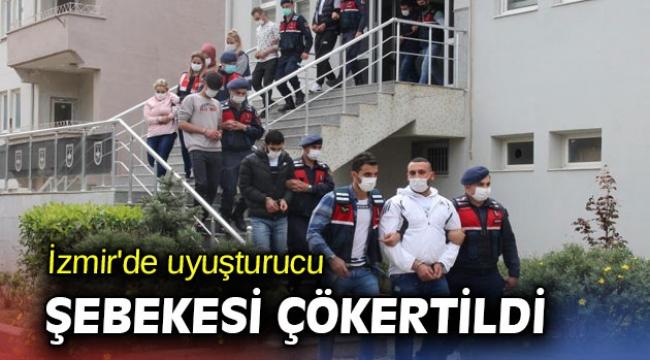 İzmir'de uyuşturucu şebekesi çökertildi