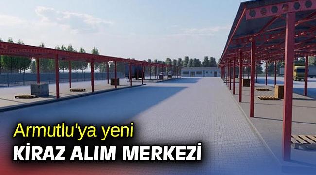Kemalpaşa Belediyesi'nden yeni kiraz alım merkezi