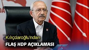 Kılıçdaroğlu'ndan flaş HDP açıklaması