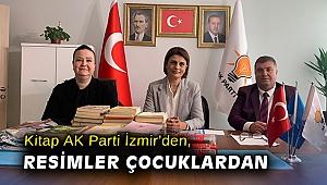 Kitap AK Parti İzmir'den, resimler çocuklardan
