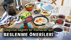 Korona virüsü salgınında sağlıklı bir Ramazan için beslenme önerileri