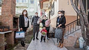 """KUŞADASI BELEDİYESİ 3 AYDA 97 BEBEĞE """"HOŞ GELDİN"""" DEDİ"""