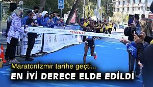 Maratonİzmir tarihe geçti... En iyi derece elde edildi