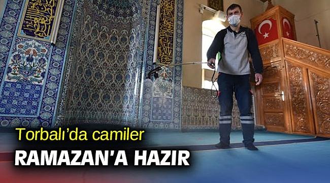 Torbalı'da camiler Ramazan'a hazır