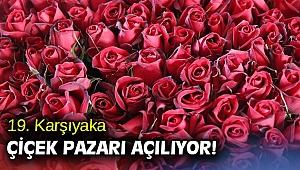 19. Karşıyaka Çiçek Pazarı açılıyor!