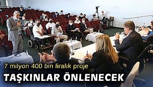 7 milyon 400 bin lira yatırımla Karşıyaka'da taşkınlar önlenecek
