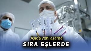 Aşıda yeni aşama sıra eşlerde