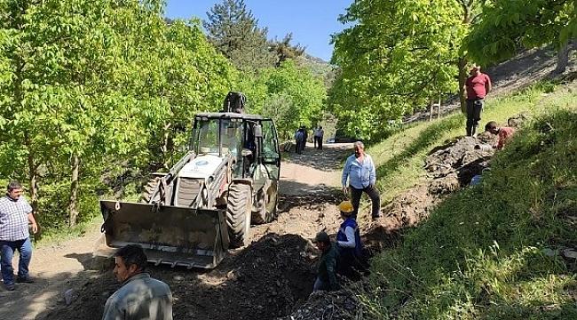 Aydın Büyükşehir Belediyesi tarımsal sulama hatlarını yeniliyor