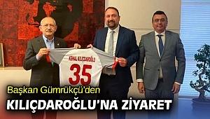 Başkan Gümrükçü'den Kılıçdaroğlu'na Ziyaret