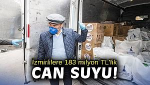 Başkan Soyer açıkladı! 183 milyon TL'lik destek yolda